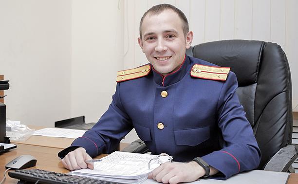 Антон Аниканов – лучший следователь Тульской области