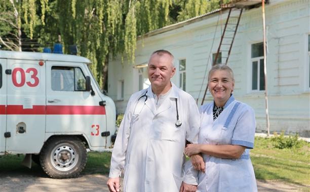 Врачи Александр и Мария Слугины: К оптимистам болячки не прилипают!