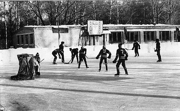 Где и как катались на коньках туляки в прошлом веке
