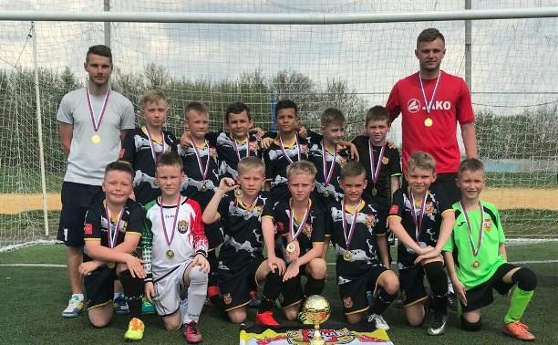 Юные футболисты тульского «Арсенала» стали чемпионами области