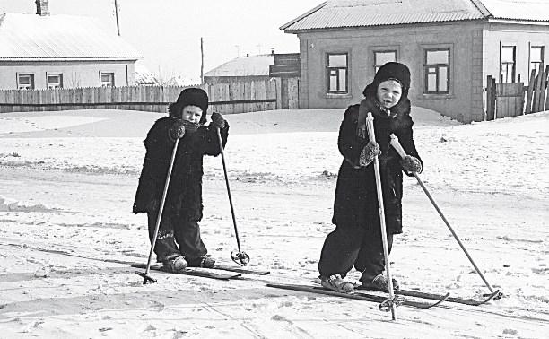 Зима из детства