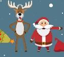 Полезные карточки о новогодних аферистах: плохие Санты и злобные олени атакуют!