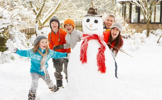 Новогодний отдых: свежий воздух, полезный досуг и праздничное настроение