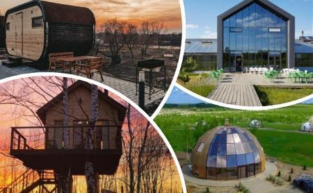 Купола, капсулы пришельцев и дом на дереве: самые необычные гостиницы Тульской области