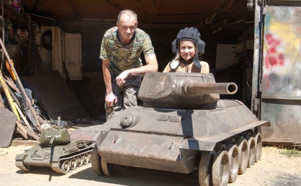 Алексей Мочалин, конструктор-самоучка: «Сбор танков – это адреналин!»