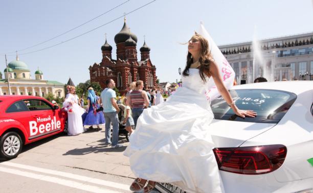 Парад невест в Туле: русалки, бабочки и сказочные нимфы