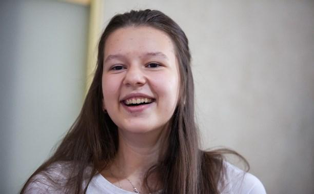 15-летняя Ксения Линник: «Жизнь прекрасна! Даже если она — на инвалидной коляске»