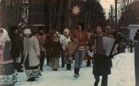 Центральный парк советского периода: деревянные лыжи, слалом на целлофане и инженерная ёлка