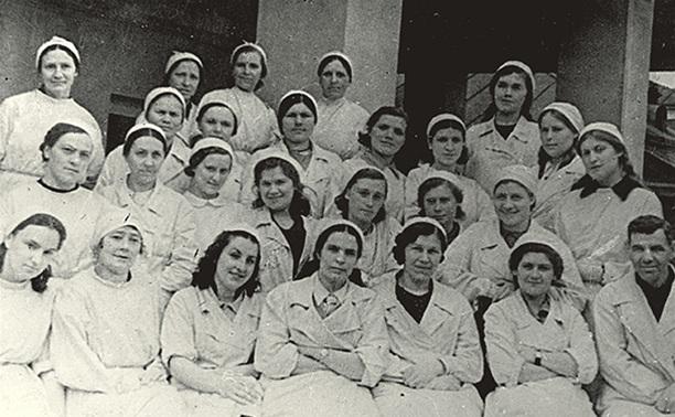 Медсестры Тульского Рабочего полка