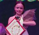 Алина Терехова завоевала титул лучшей детской модели Тулы