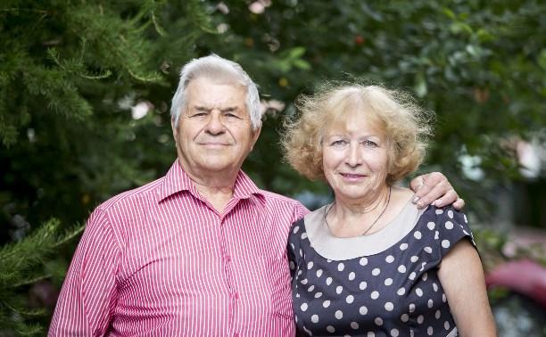 50 лет счастья  семьи Ключниковых