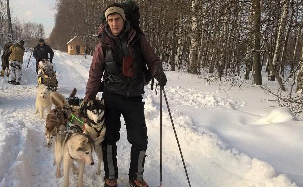 Три туляка и шесть хаски: а вам слабо провести ночь в зимнем лесу?