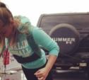 15-летняя тулячка вытянула огромный «Хаммер»