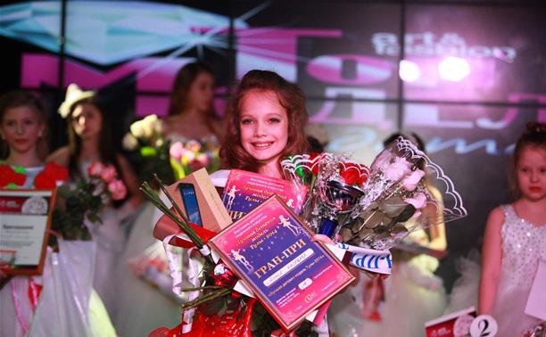 Алина Чилачава стала лучшей детской моделью Тулы