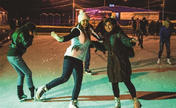 Где в Туле покататься на коньках?