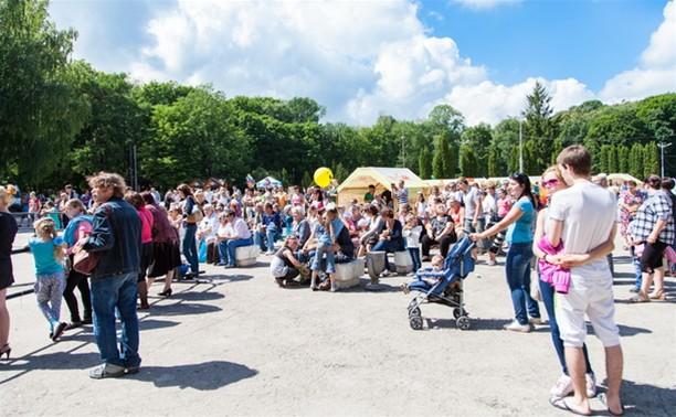 Центральный парк Тулы отметил день рождения