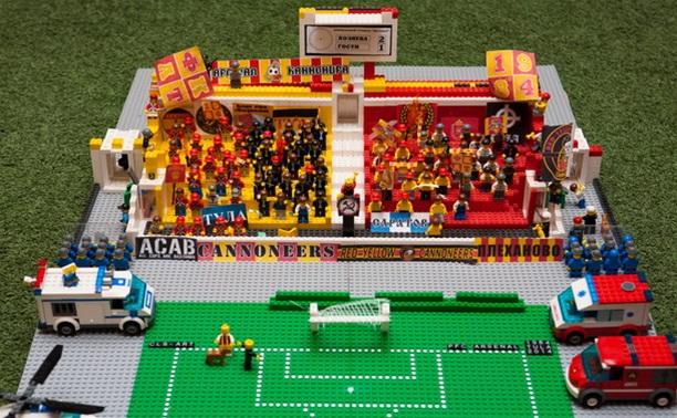 Болельщики «Арсенала» собрали футбольный шедевр из «Лего»