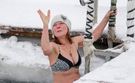 Тульские моржи: Окунуться в прорубь – кайф!