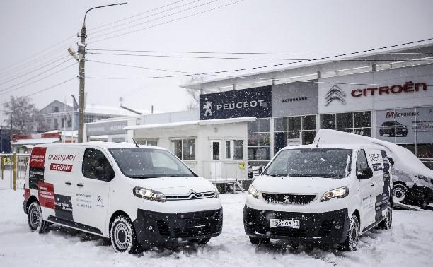 Peugeot Expert и Citroen Jumpy – автомобили для бизнеса