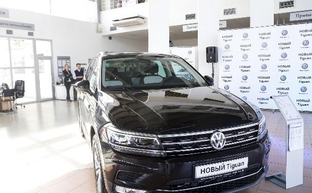 НОВЫЙ Volkswagen Tiguan: производит впечатление. Не только с первого взгляда