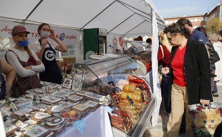 Ярмарка «Сделано в Тульской области»: продукты от местных производителей со знаком качества