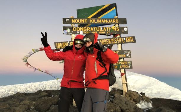 Туляки совершили восхождение на Килиманджаро