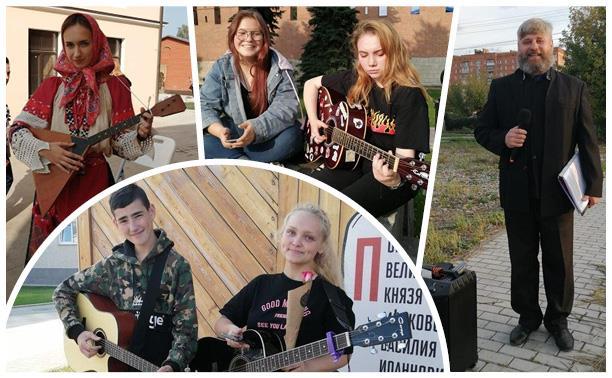 «Я — уличный музыкант»: кто играет на улицах Тулы?