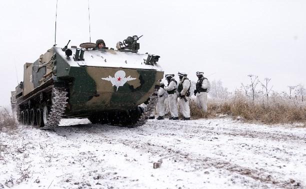 Тульские десантники испытали новый БТР «Ракушка»