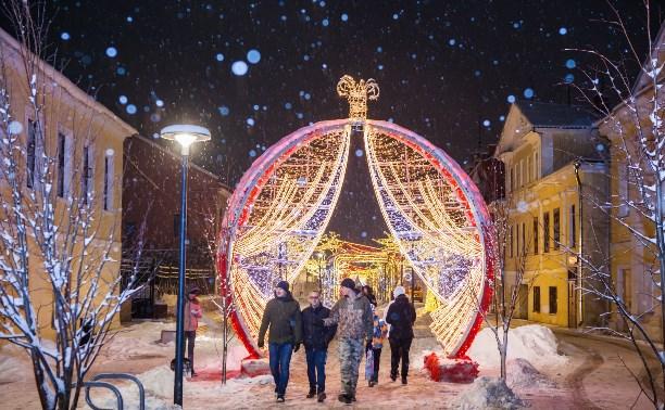 Красивые фотографии Тулы, которые зарядят новогодним настроением