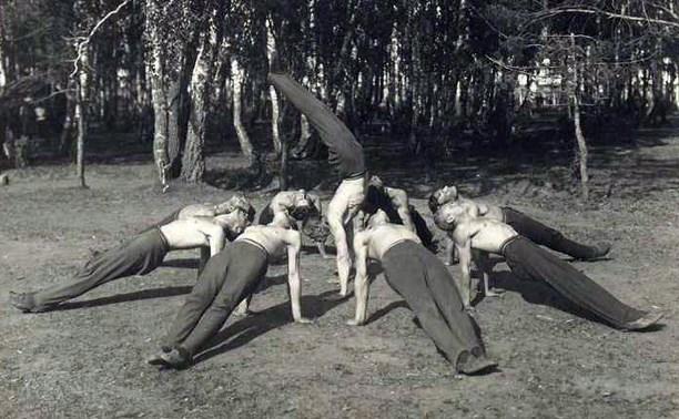 Тульские гимнасты-соколы
