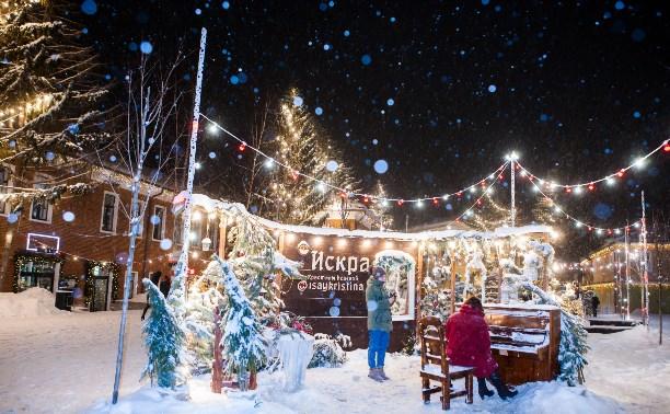 40 уютных фото вечернего снегопада в Туле