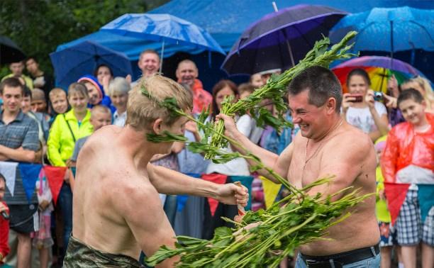 В селе Крапивна прошёл XIII Фестиваль Крапивы