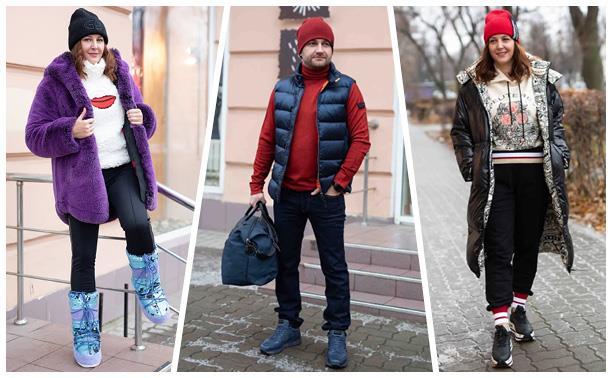 Не выбирай между стилем и комфортом: 6 модных образов для нашей погоды