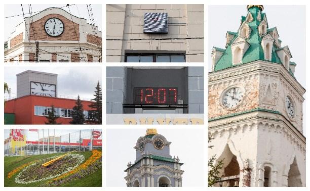 Часы на улицах Тулы: древние, «мэрские», цветочные и вокзальные