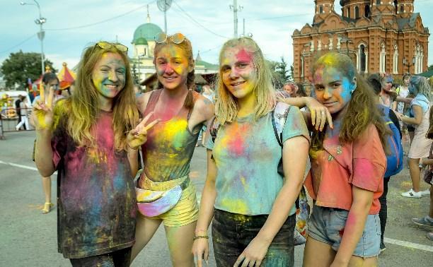 Раскрасили лето: Как в Туле прошел Фестиваль красок