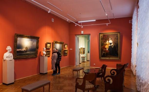 Тульский областной художественный музей:  Айвазовский, Серов и Лука Джордано