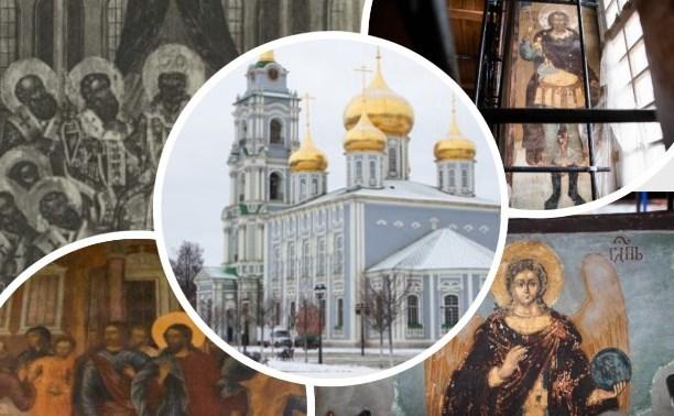 Истории Тульского кремля: реликвии Успенского собора