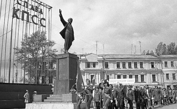 Тульские памятники вождю мирового пролетариата