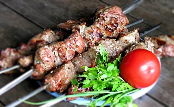 Как приготовить мясо и овощи на природе