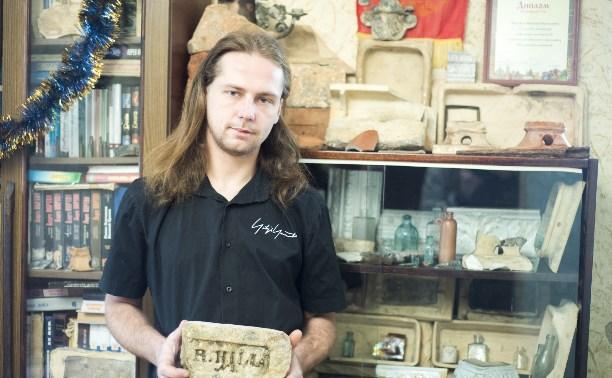 Хранитель истории: туляк собирает дореволюционные кирпичи