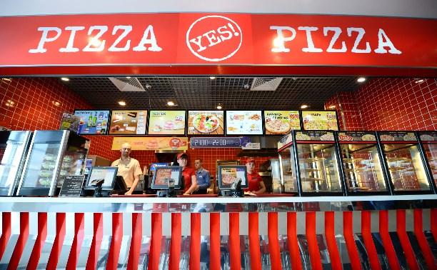 На открытой кухне Yes Pizza все под контролем!