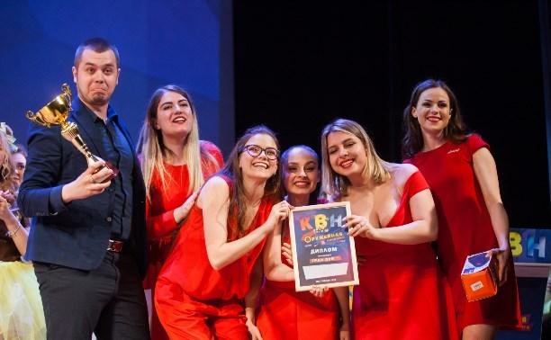 Гран-при фестиваля Оружейной лиги КВН получила женская команда «Ещё»