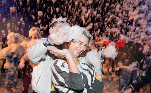 «Голубую воду» накрыли миллионы мыльных пузырей