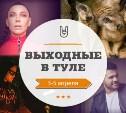 Онлайн-выходные в Туле: 3-5 апреля
