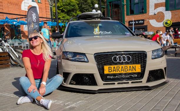 Крутые автомобили представили в Туле на фестивале «Пушка»