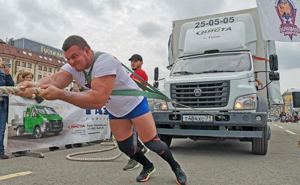«Сила Тулы»: многотонный грузовик, гири по 240 кг и другие испытания для стронгменов