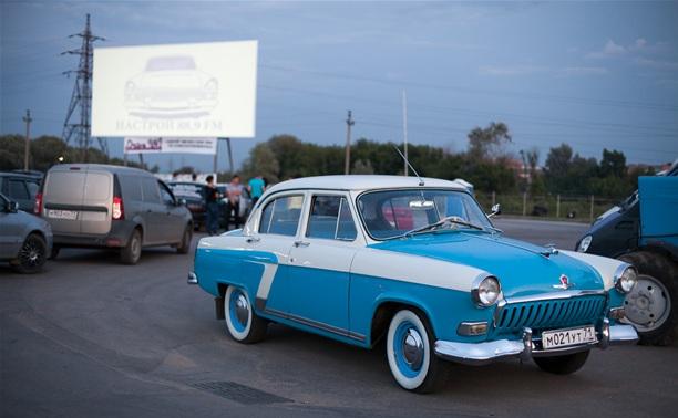 В Туле официально открыли автокинотеатр «Drive in!»