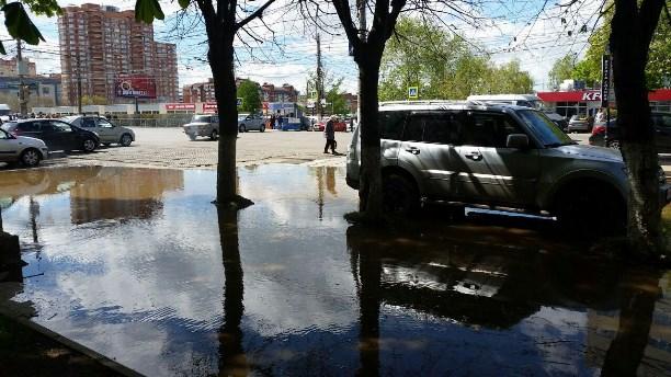 Из-за коммунальной трагедии напроспекте Ленина практически тысяча туляков остались без воды