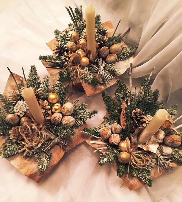 24003efed17f Предлагаем купить новогодние подарки ручной работы со скидкой до 25%!  Новогодний мини-букетик с конфетами — всего за 300 руб. или новогодняя  композиция в ...