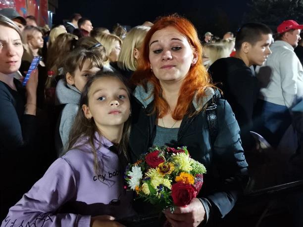 2Маши поздравили туляков с Днем города: фоторепортаж
